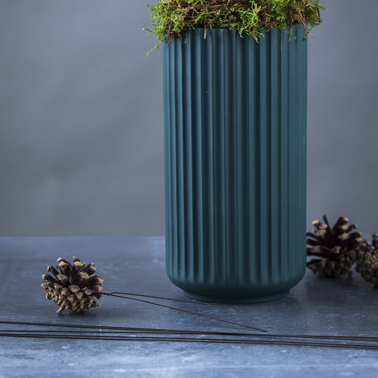 kalenderlys annette von einem dekoration jul juledekoration vase og lys kogler