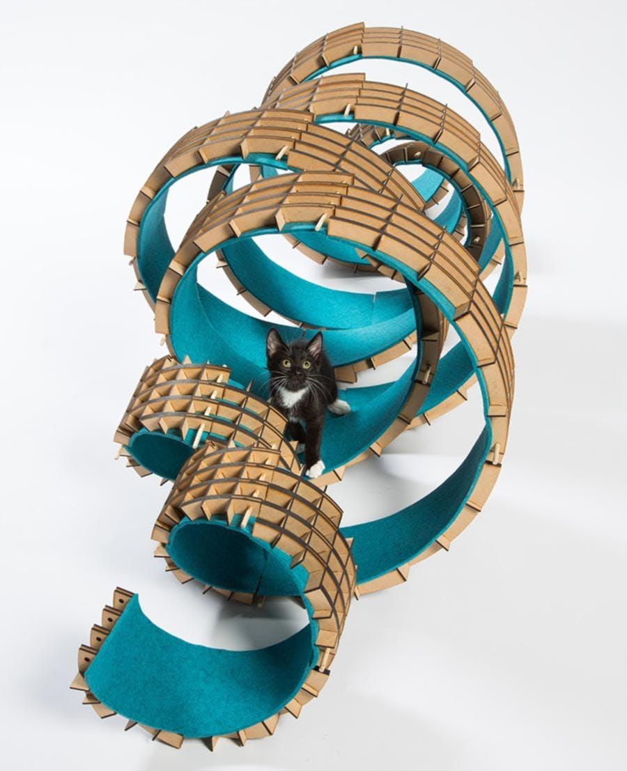 kat designer møbler design kattetræ
