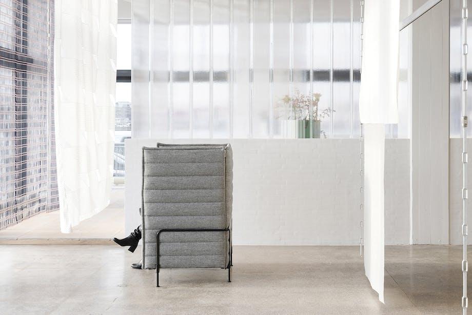 kvadrat showroom sofa bourroullec