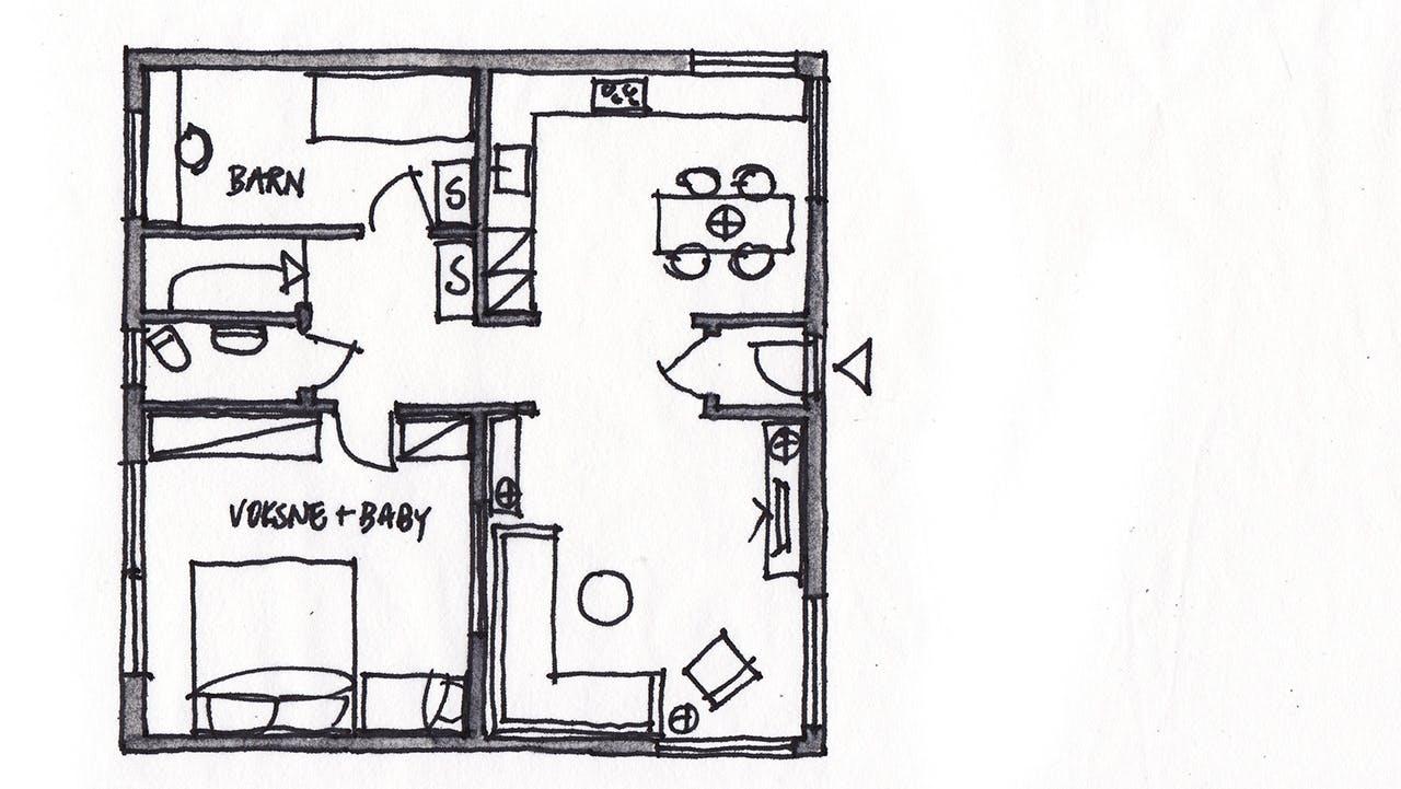 lone barslund indretningstips bungalow boligbloggen