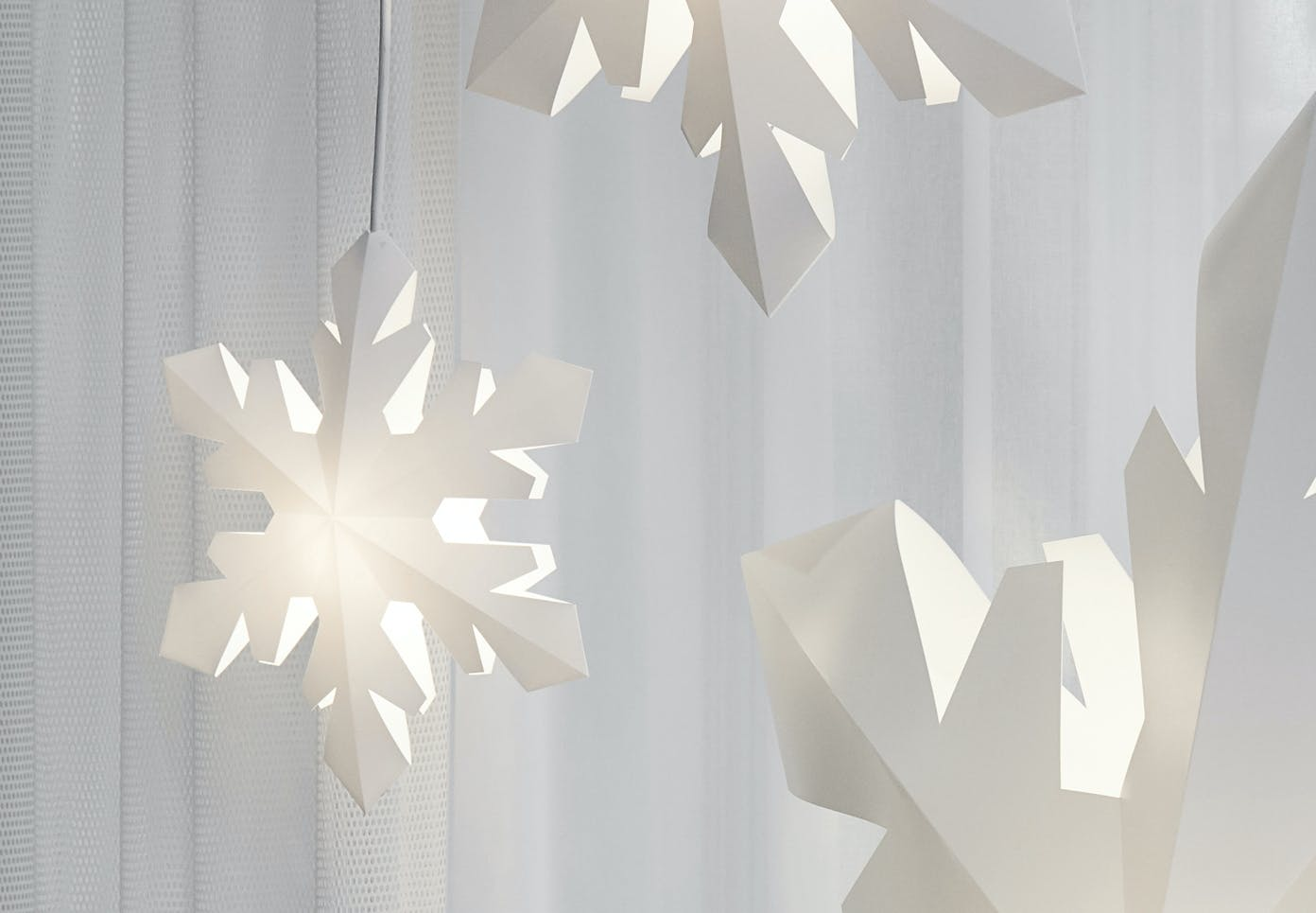 le klint lampe jul snefnug love and light