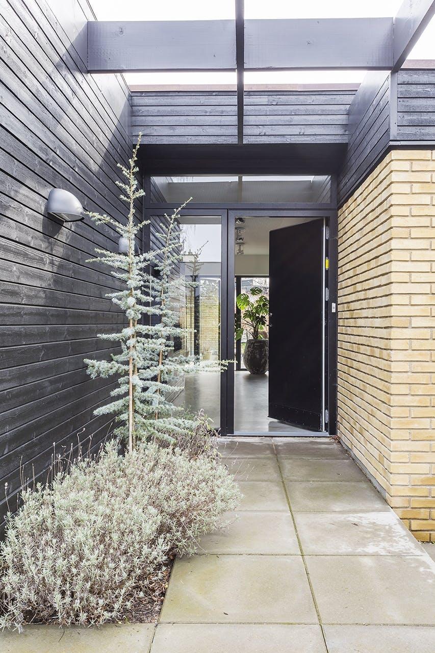 renovering af bolig parcelhus facade