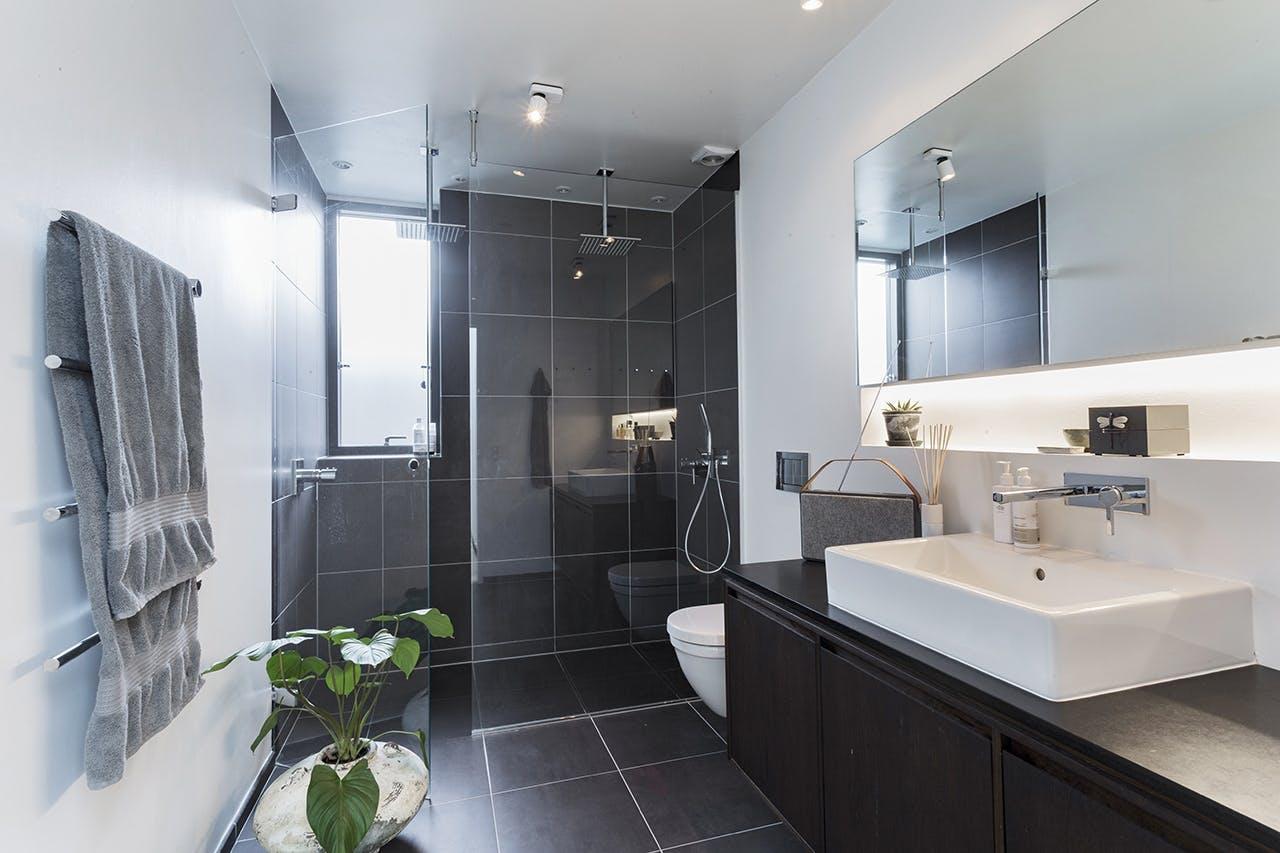 renovering af bolig parcelhus badeværelse