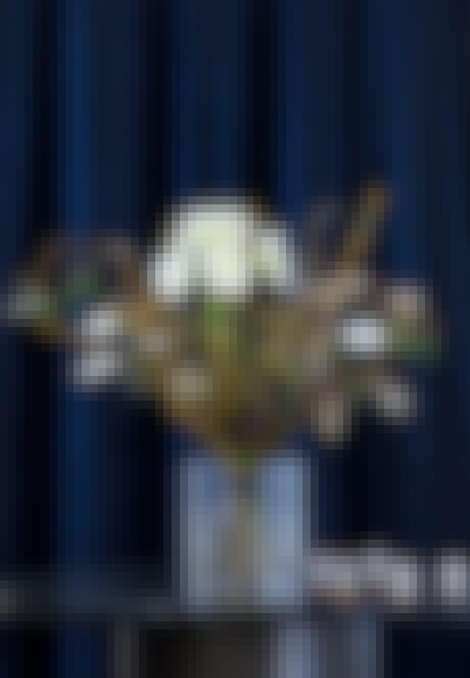 Julebuket hvide amaryllisser