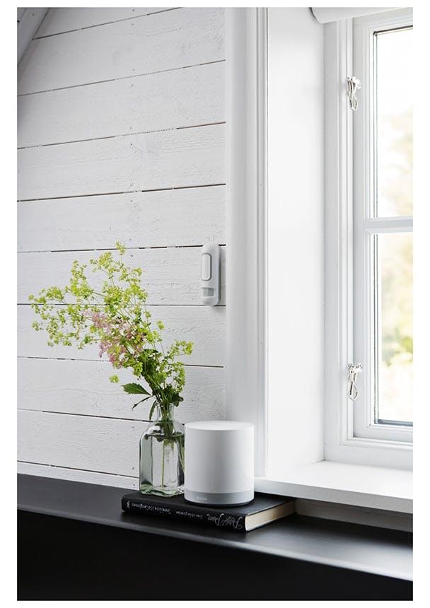 D-Link sensor ved vindue