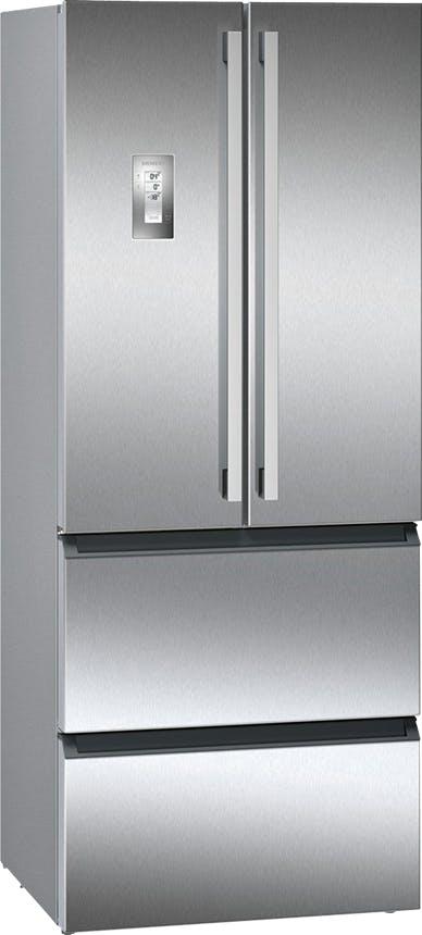 Siemens køleskab i stål