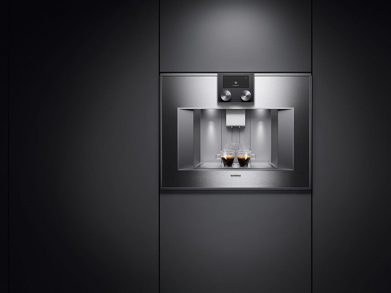 Gaggenau indbygget espressomaskine