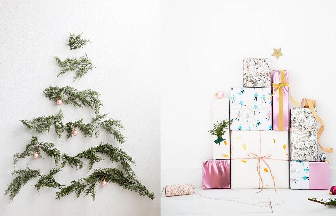 juletræ jul utraditionel alternativ