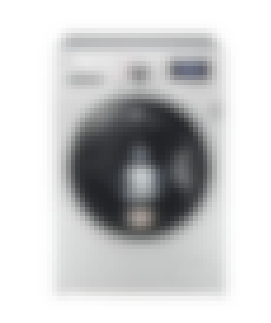 LG vaskemaskine med dampfunktion