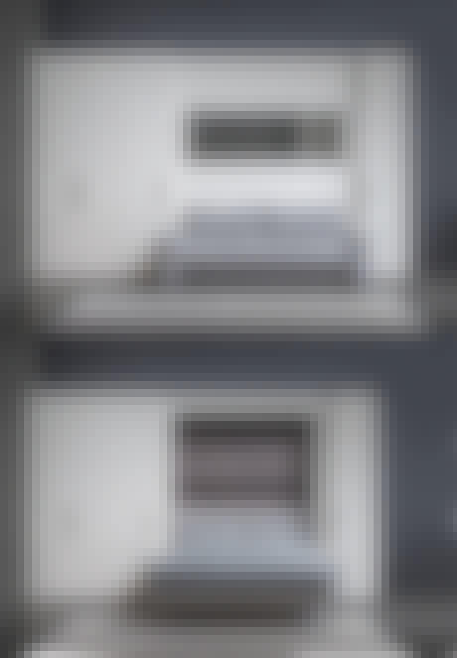 Flou sofaseng i grå