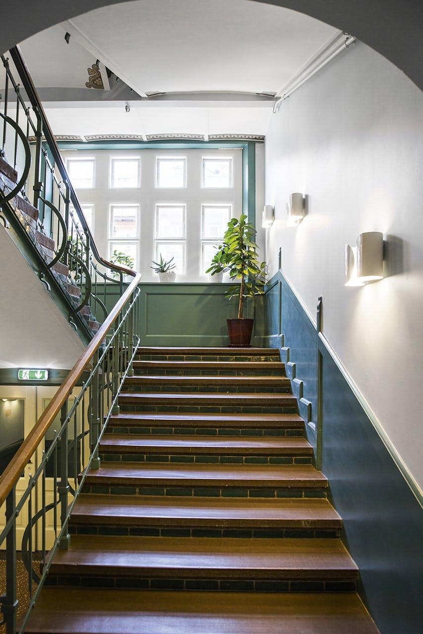 opgang trappe plejehjem aarhus