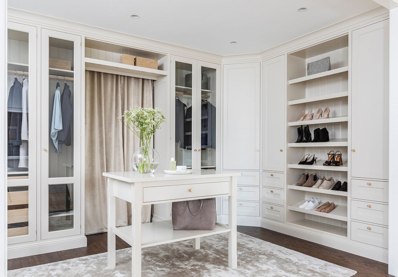 walk in closet inspiration