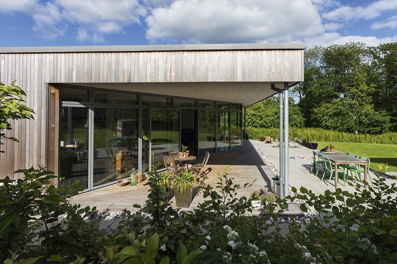 danske boligarkitekter boligreportage terrasse