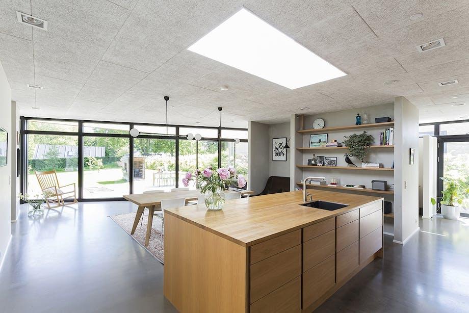 danske boligarkitekter boligreportage køkken og stue
