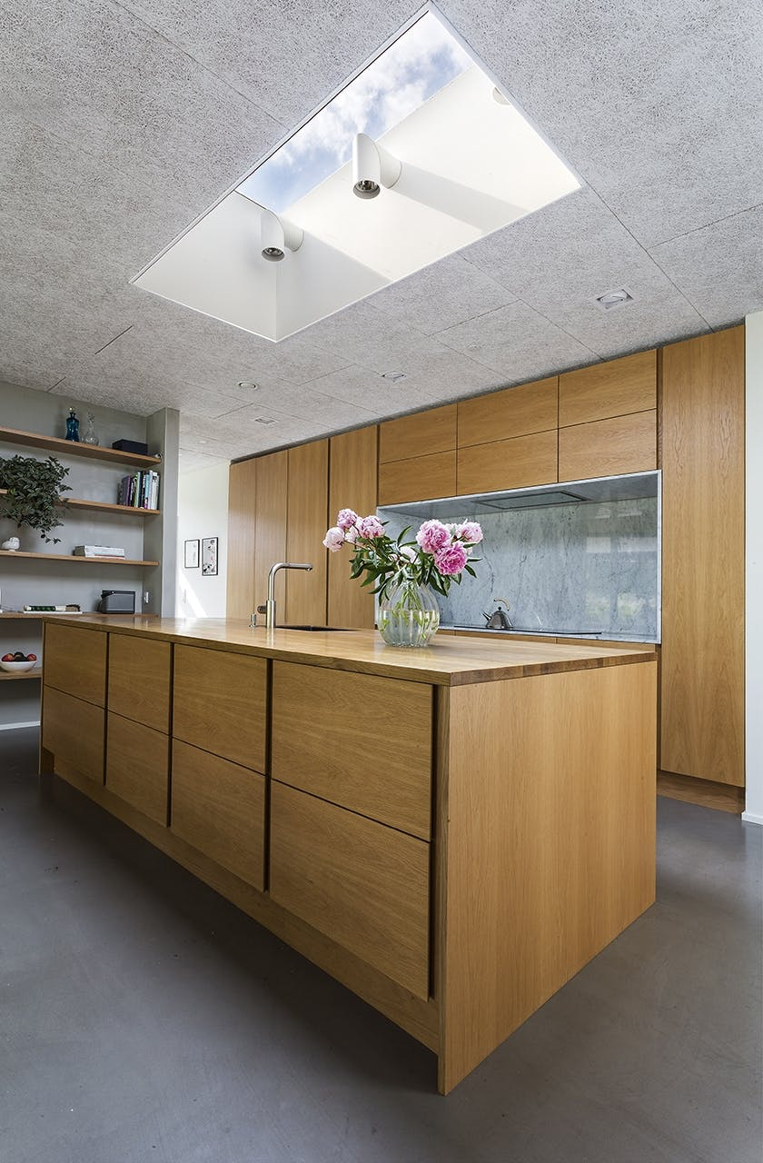 Danske Boligarkitekter boligreportage køkken marmor