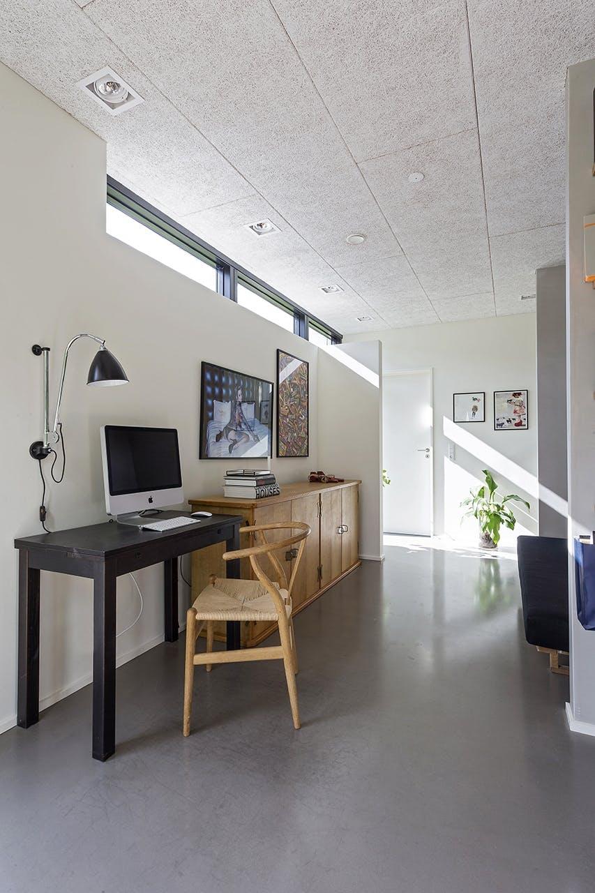 danske boligarkitekter boligreportage hjemmekontor