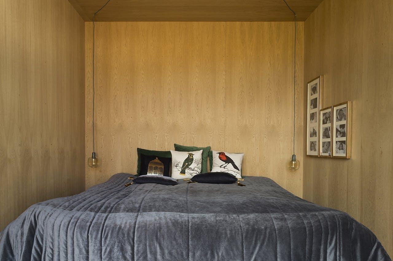 danske boligarkitekter boligreportage soveværelse