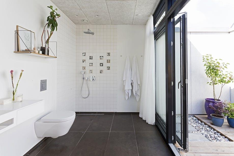 danske boligarkitekter boligreportage badeværelse
