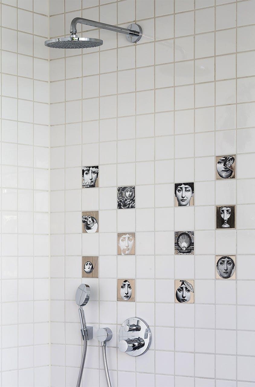 danske boligarkitekter boligreportage fliser i badeværelse