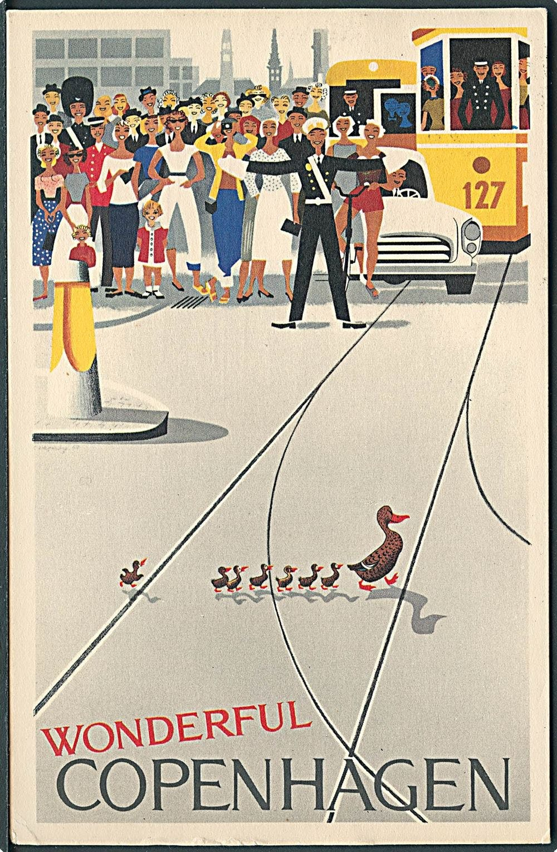 Posterland plakat københavn wonderful copenhagen retro plakat