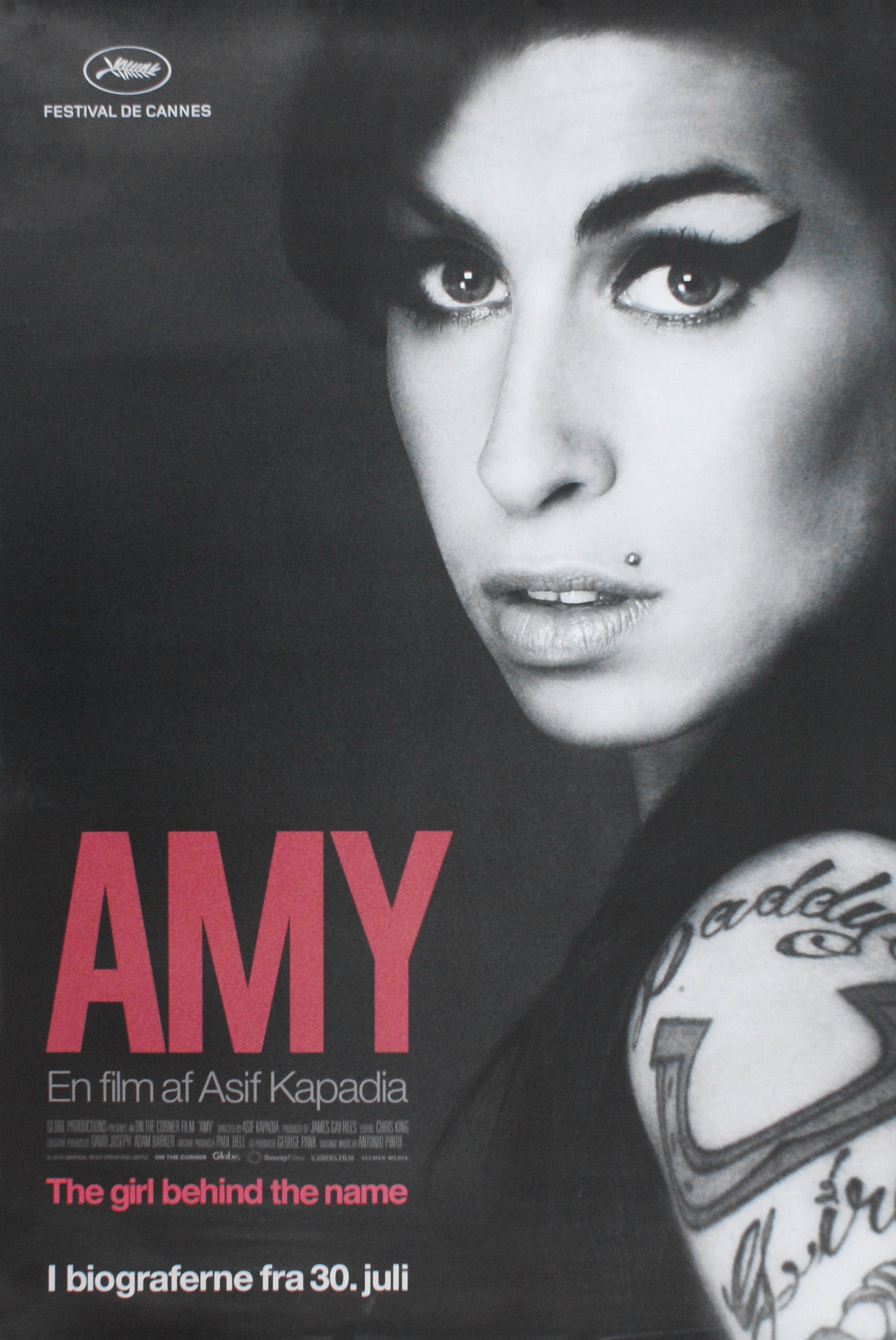 movieposter plakat af amy winehouse dokumentar