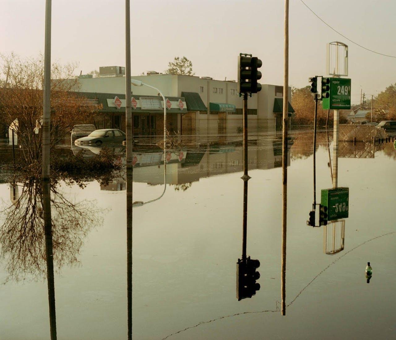 The Wall Market fotokunst af oversvømmet gade