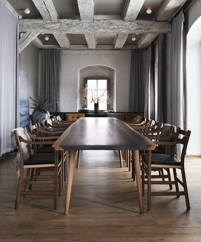 Ditte Isager Noma Redzepi spisebord københavns møbelsnedkeri