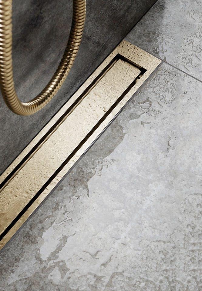 Unidrain reframe badeværelse toilet tilbehør messing brusekabine bruseniche