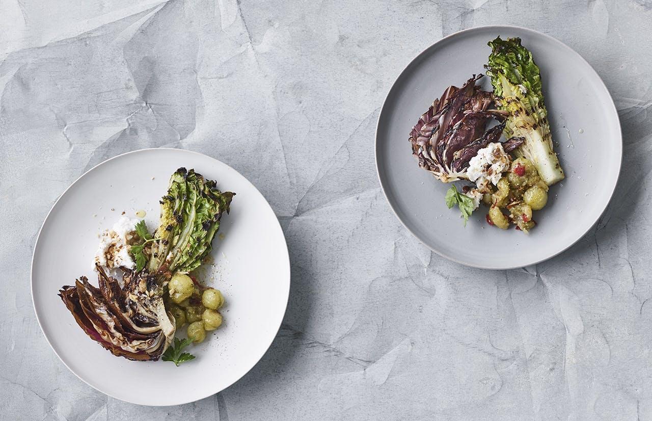 grill menu opskrifter salat