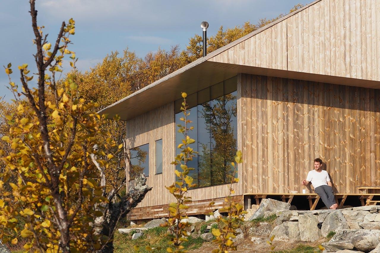 "arkitekt Jon Danielsens hus ""hytte ustaoset"""