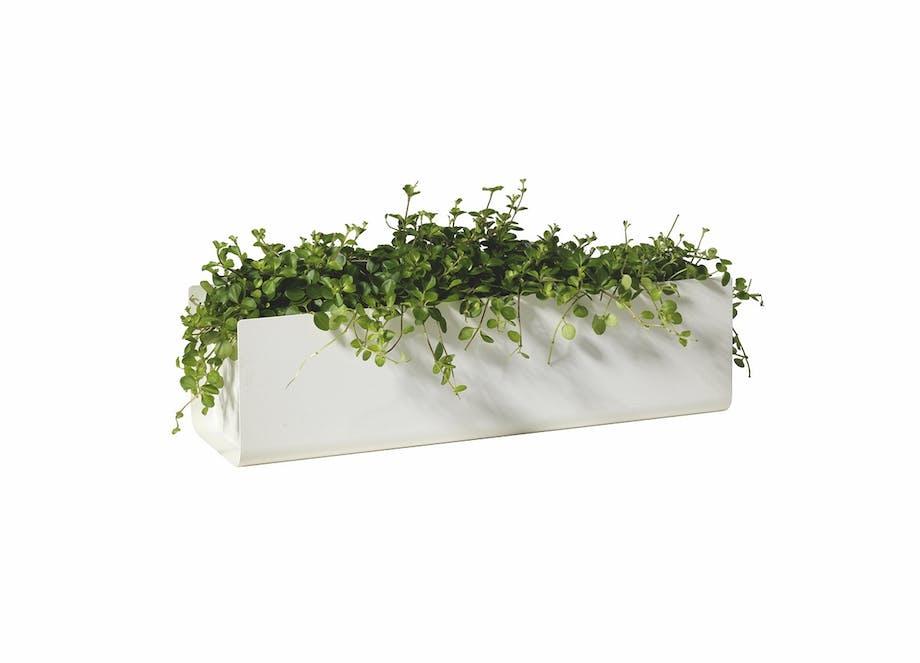 SMD Design hvid altankasse