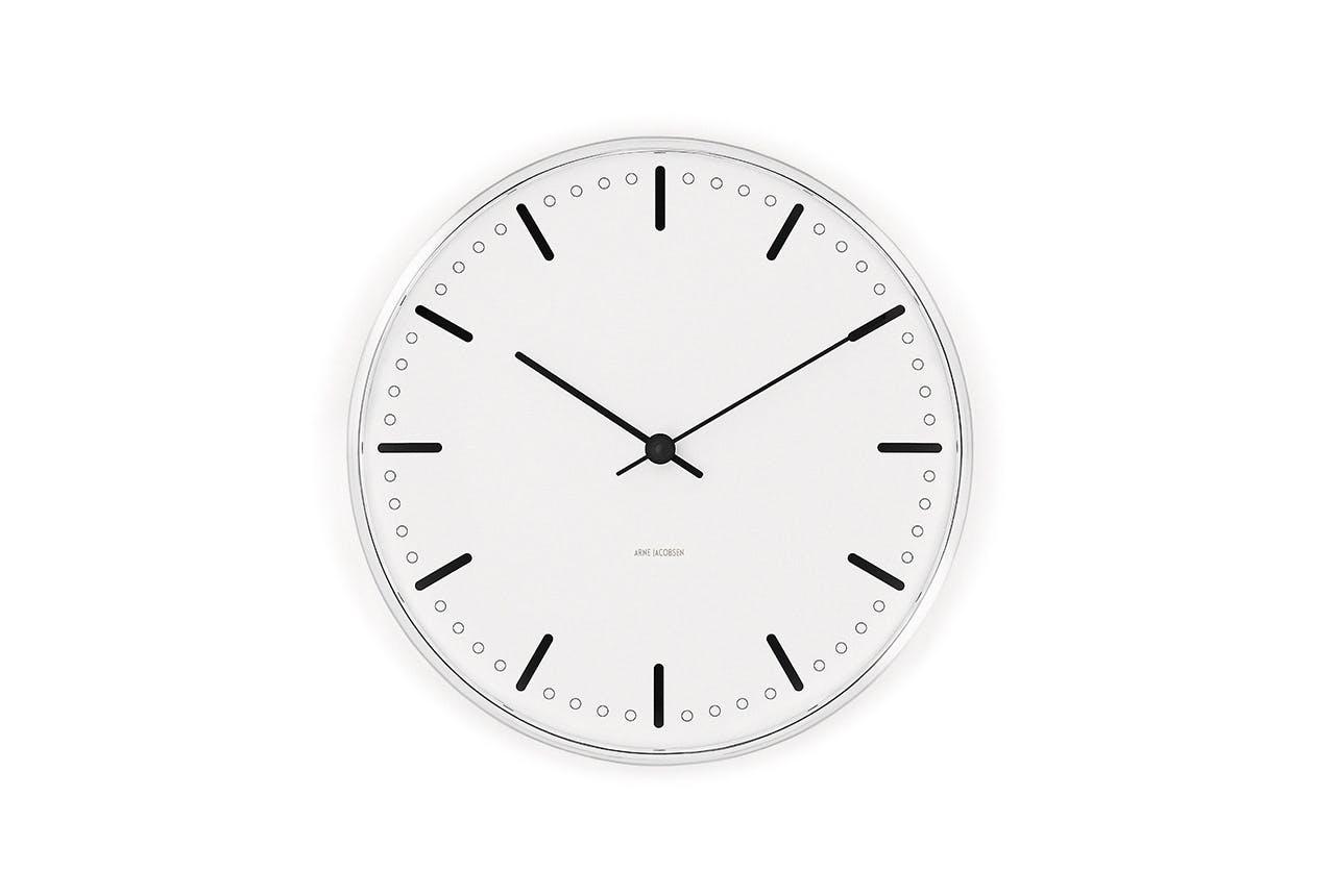 arne jacobsen ur design hvid
