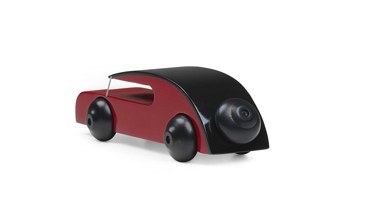 Kay Bojesen ny træfigur bil rød sort
