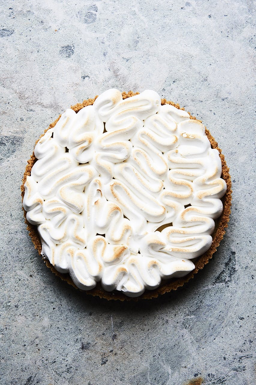 lime kage marengs pie