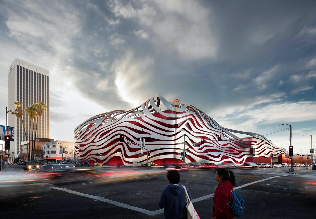 Kohn Pedersen Fox Associates, Petersen Automotive Museum, Los Angeles