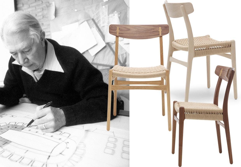 dansk design hele wegners f rste kollektion i produktion. Black Bedroom Furniture Sets. Home Design Ideas