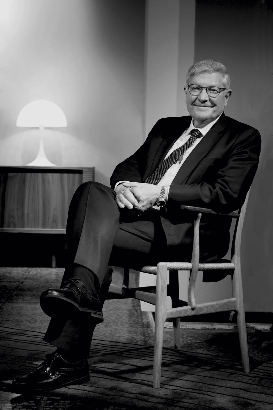 Knud Erik Hansen, barnebarn af Carl Hansen og grundlægger af Carl Hansen & Søn.