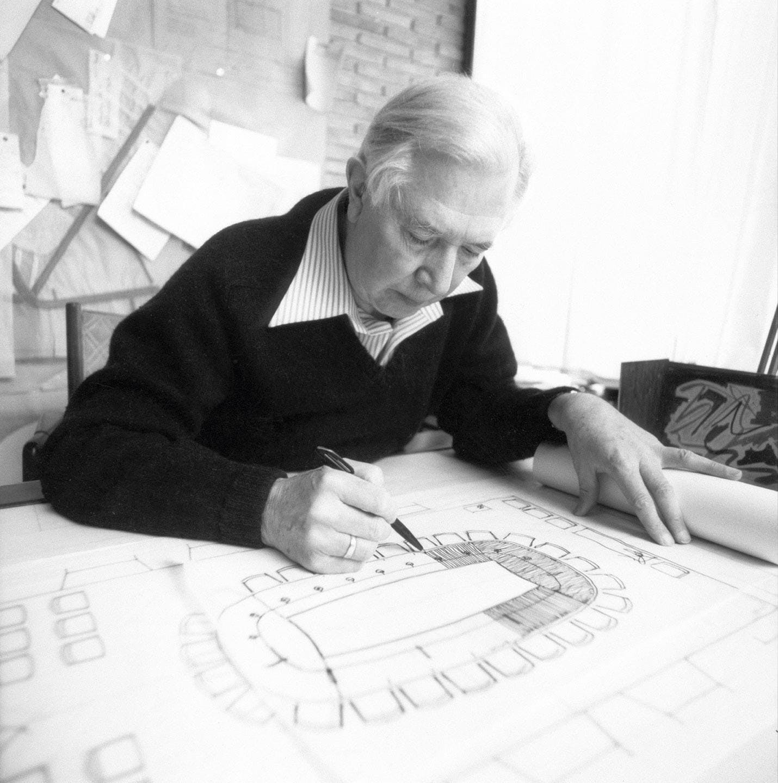 Møbelsdesigner Hans J. Wegner.