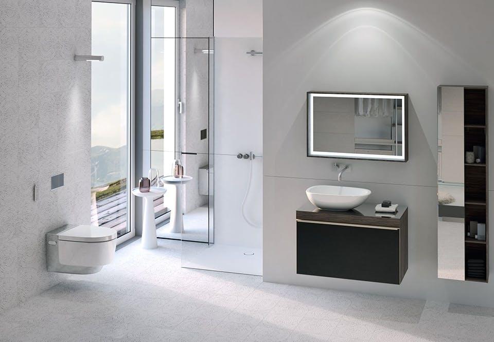 indret badeværelset med det rigtige lys