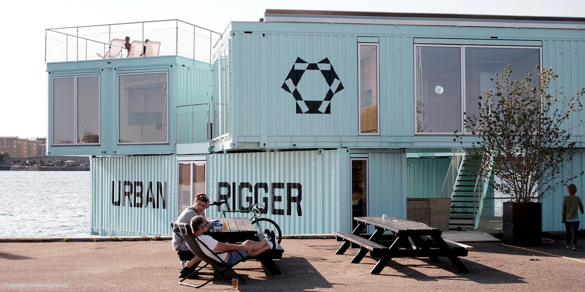 Urban Rigger - containerboliger i København
