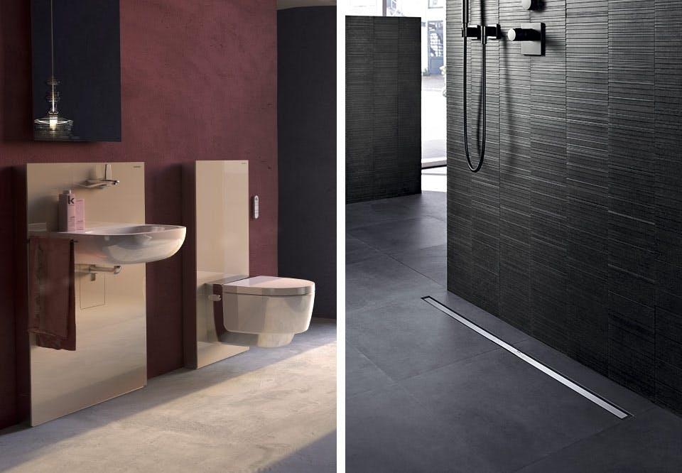badeværelse indretning toilet håndvask Geberit