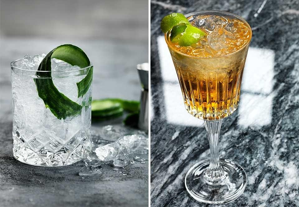 RCR krystalglas cocktails drinks ZLH gin toncic aperol spritz dark stormy