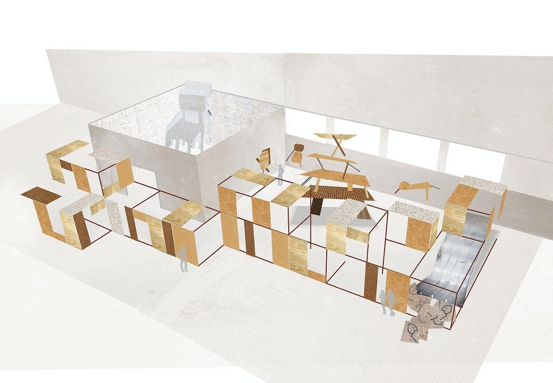 Showroom for Ikea ved møbelmessen i Milano