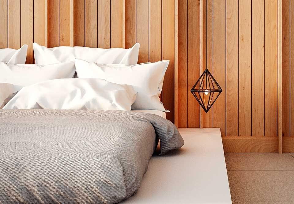 Indret soveværelset med naturligt lys og få en bedre søvn