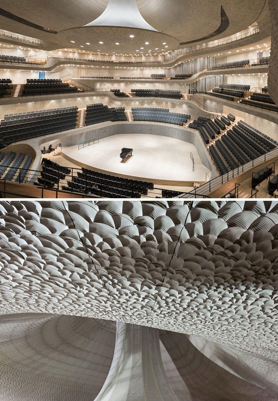 Koncertsalen i Elbphilharmonien