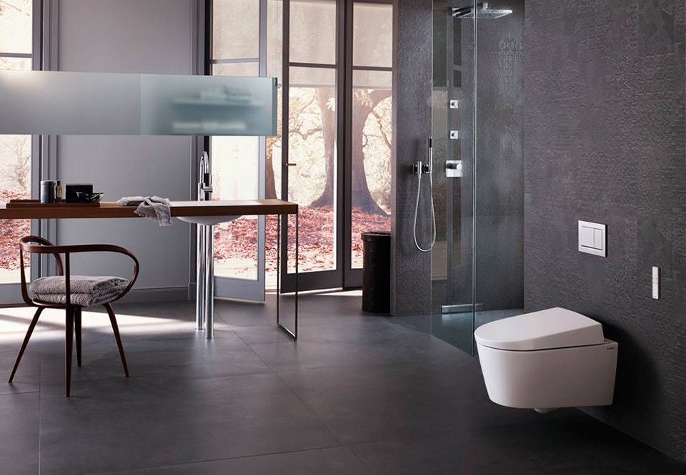 Geberit AquaClean douche toilet
