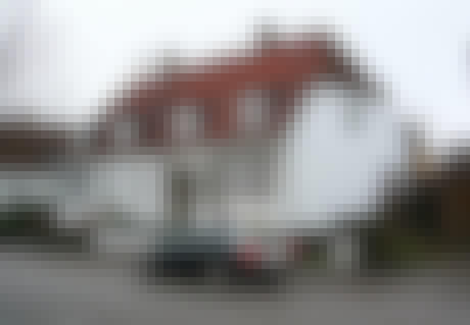 Duplexversion af murermestervilla i Grøndalsvænge i København nordvest.
