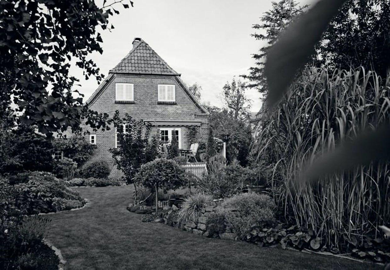 En have er en del af konceptet i en murermestervilla.