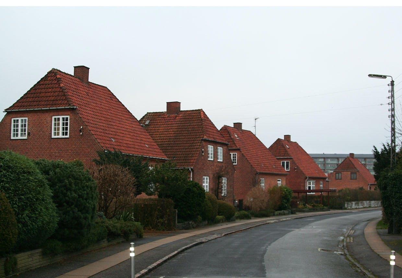 Murermestervillaer i murermestervillakvarteret Grøndalsvænge.