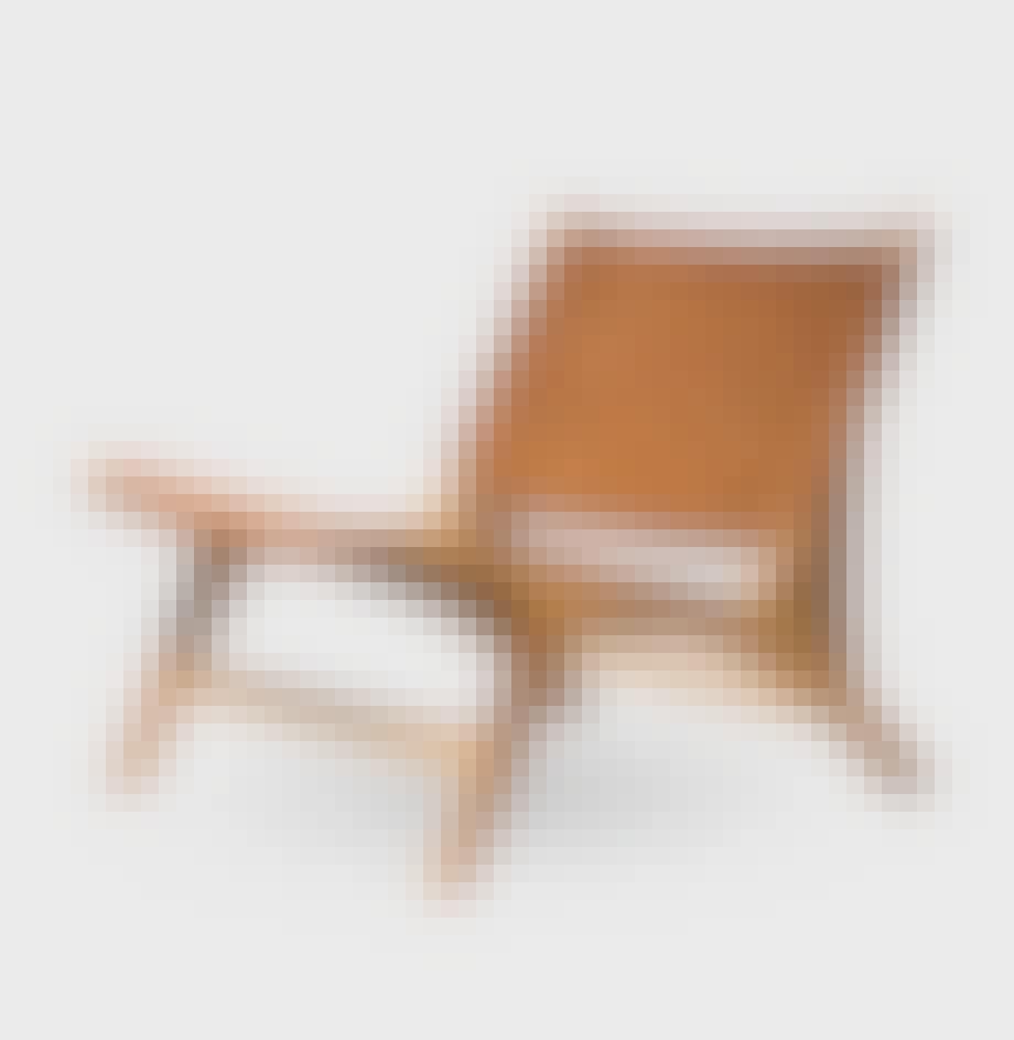 Super smart og lækker lænestol fra møbelforretningen Nova Møbler